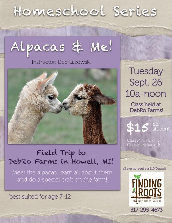 HSS 0926 Alpacas and Me